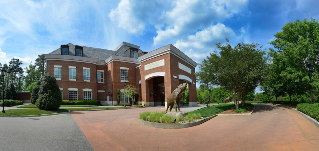The Park Alumni Center. Photo by Marc Hall