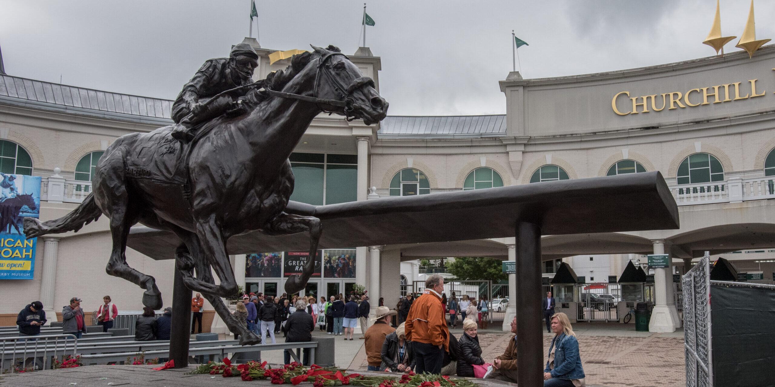 Churchill Downs Statue