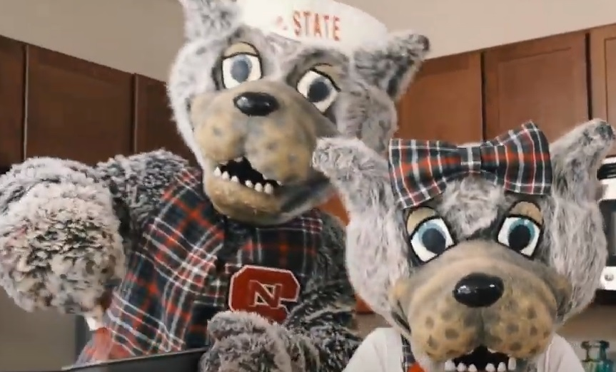Mr. and Ms. Wuf holidays