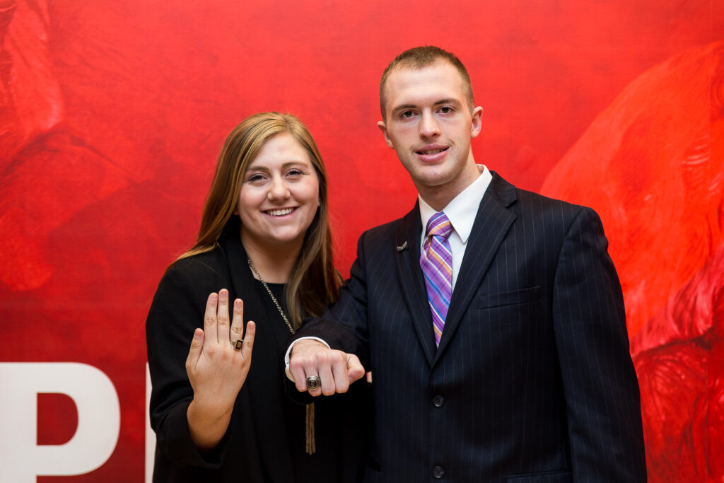 Ring Ceremony at Reynolds Coliseum.