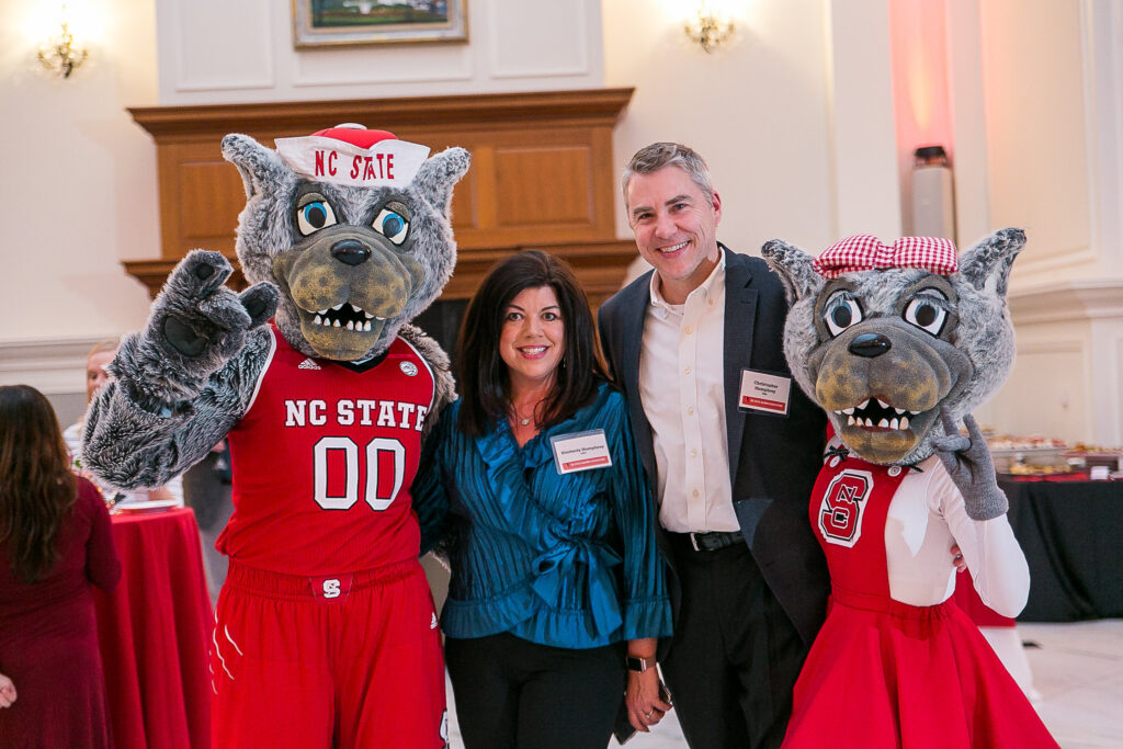 NC State alumni attend StateMates event.