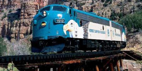 Train to Grand Canyon
