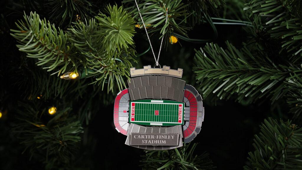 Carter Finley Stadium Ornament