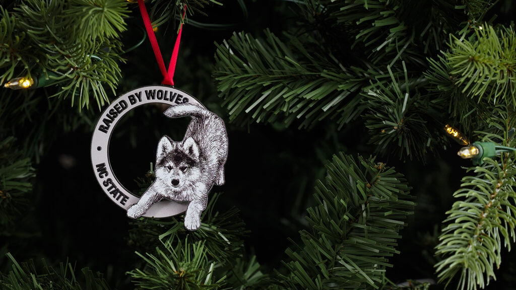 Raised by Wolves Ornament