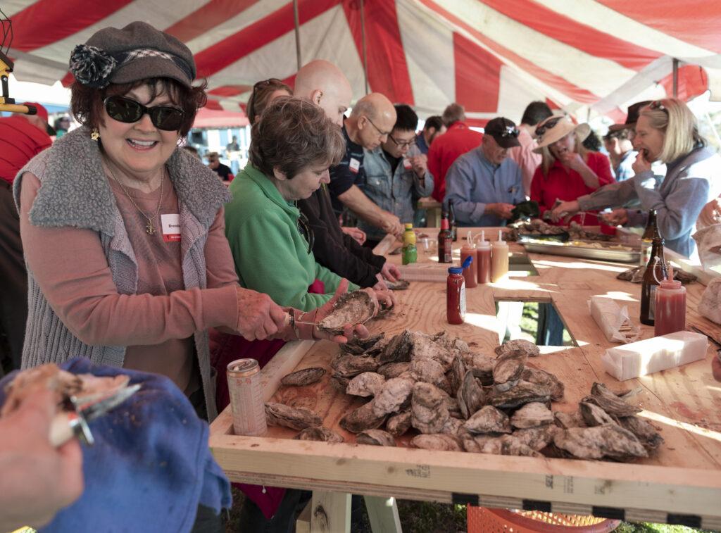 crystal coast oyster roast