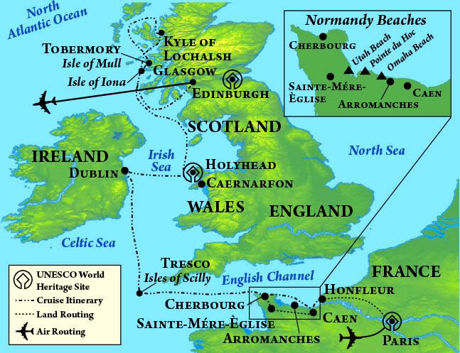 Celtic Lands Map