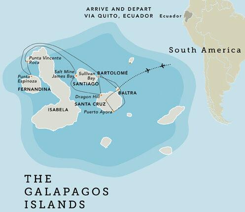 Galapagos Western Itinerary