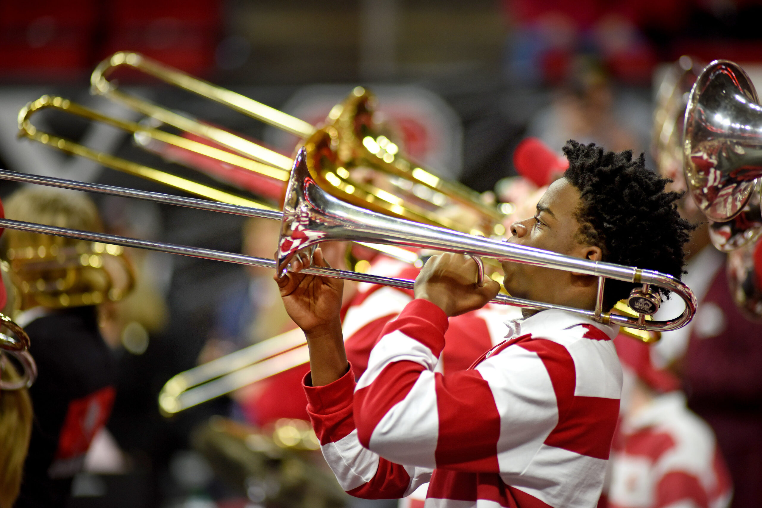 NCState band playing